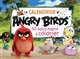 LE CALENDRIER ANGRY BIRDS 55 SOUS-MAINS A COLORIER
